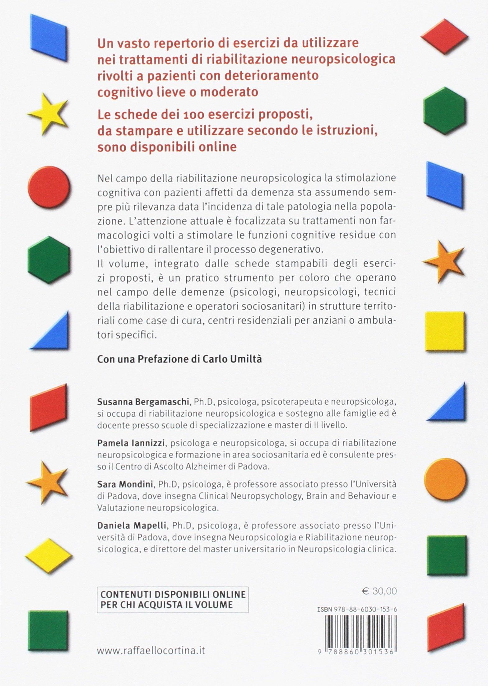 Molto Amazon.it: Demenza. 100 esercizi di stimolazione cognitiva - - Libri KU81