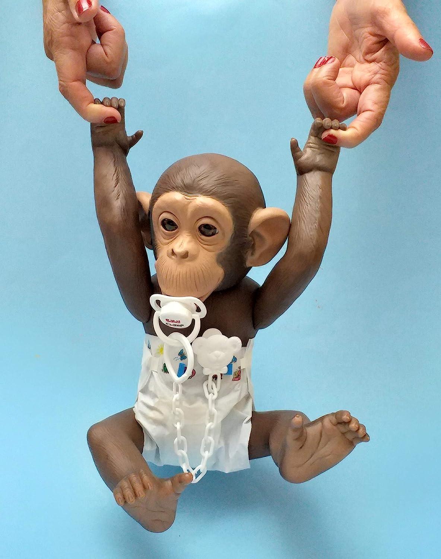 Baby Chimp Bebe Reborn de chimpance babychimp.es