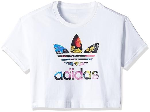 c73042eccd6c6e adidas adidas Mädchen T-Shirt AJ0036 J BB Tee G Weiß (116) T-Shirts ...
