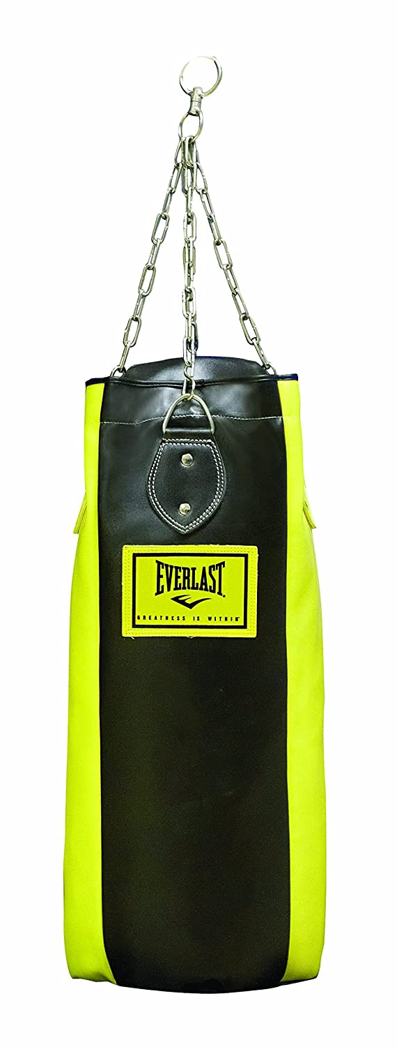 Everlast 3076UN - Saco 4 paneles, color amarillo/negro 057232 99005