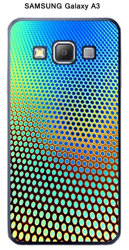 Onozo Carcasa Samsung Galaxy A3 Design Degrade azul & Marrón ...