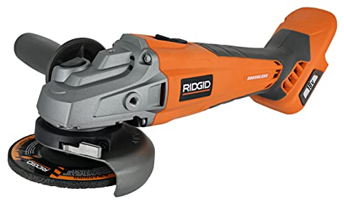 Ridgid brushless 18v 4-1 2in. Angle Grinder