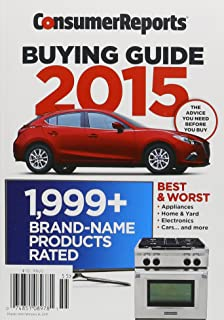 consumer reports buying guide 2013 consumer reports 0074851089781 rh amazon com Car Buying Guide 2014 Consumer Reports Appliances