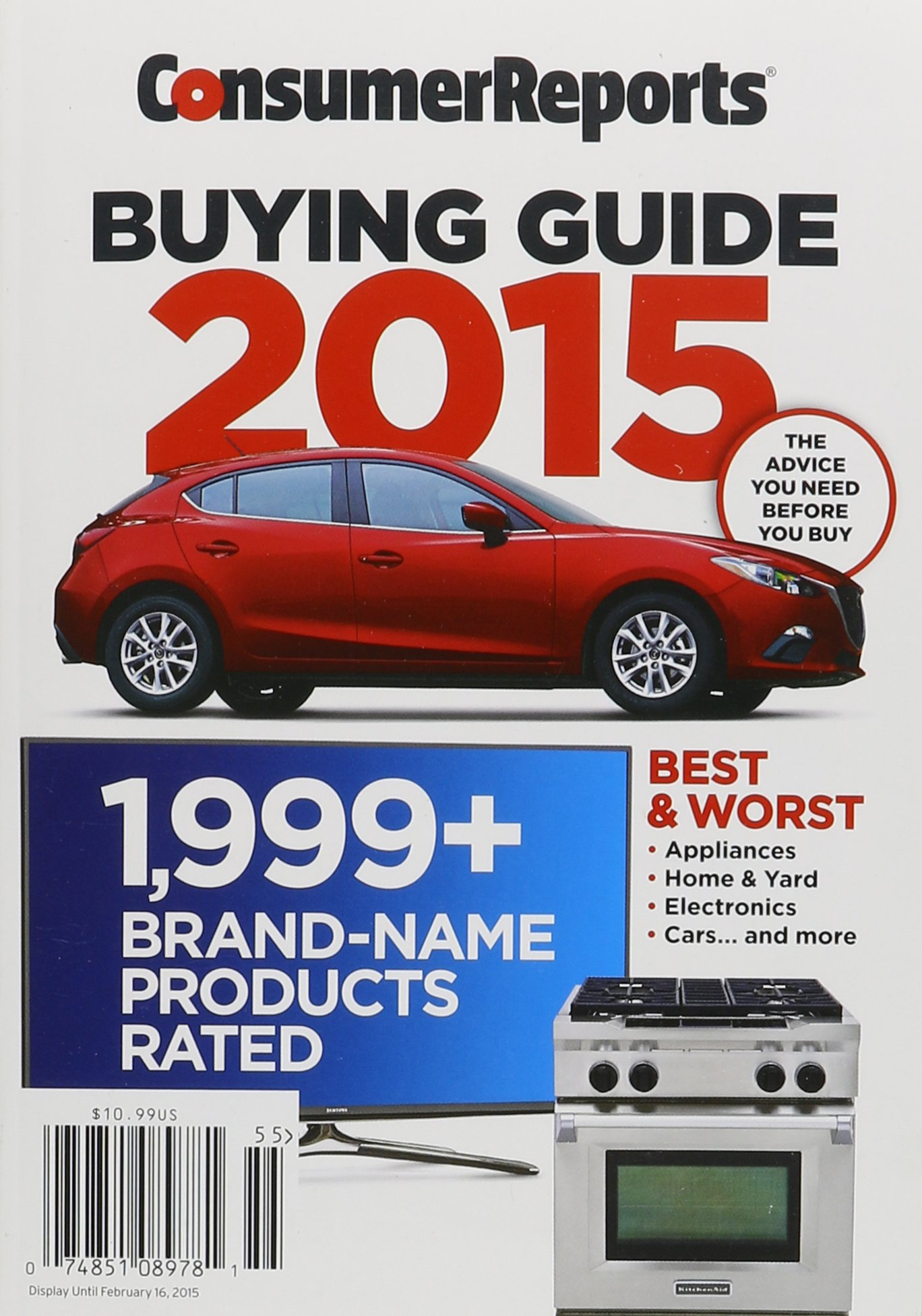 Consumer Reports Buying Guide 2015: Consumer Reportds ...