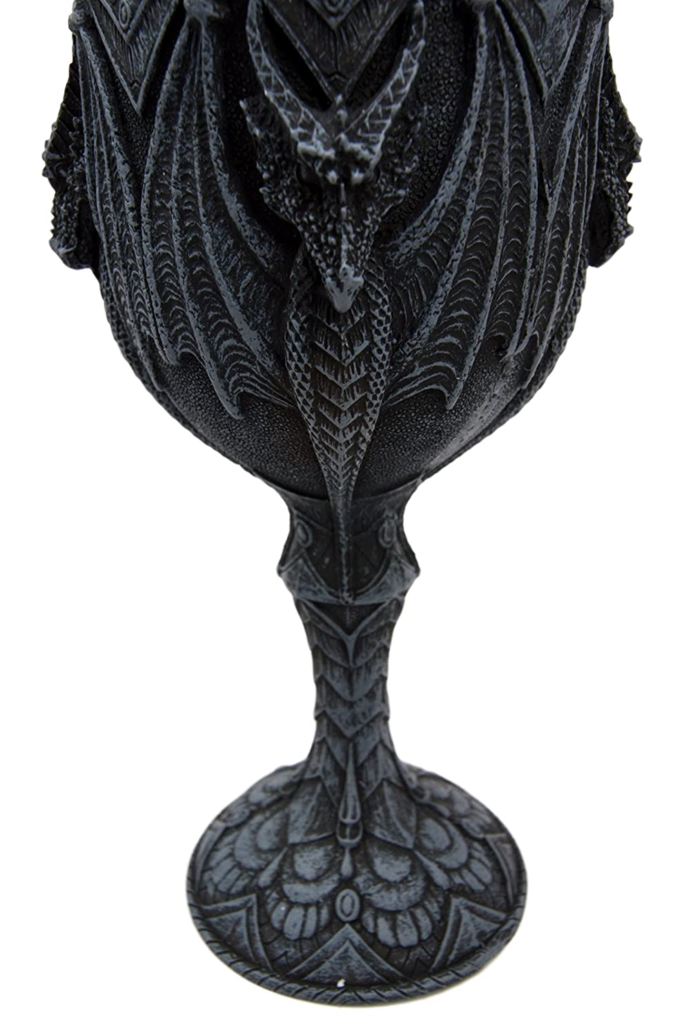 Atlantic Collectibles Winged Terror of The Sky Beowl Dragon 7H Wine Goblet Cup Chalice