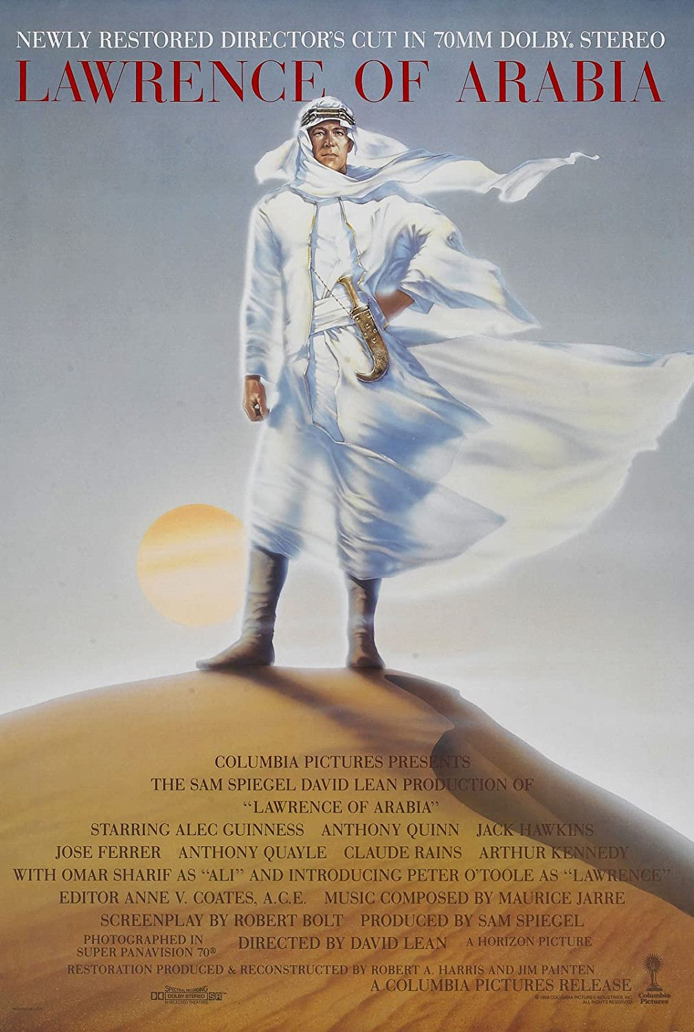 LAWRENCE OF ARABIA Movie Poster 1962 Hollywood Classic 24x36inch