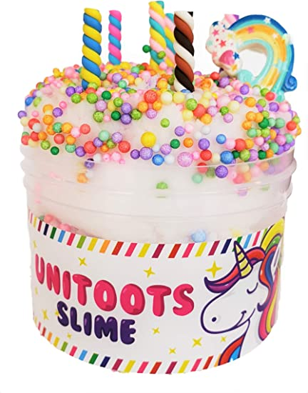 Amazon.com: Slime tipo pastel de cumpleaños, aromático ...