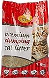 Feline First 50475 Premium Clumping Cat Litter 7.5 kg