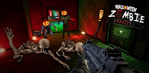 Amazon com: Real zombie hunter - FPS shooting in Halloween: Appstore