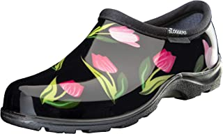 product image for Sloggers 5120TLPBK09 Tulip Black Print Waterproof Comfort Shoe, 9