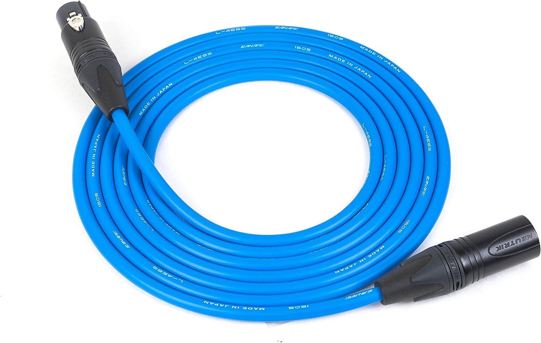 Canare Quad Cable L-4E6SNeutrik Gold XLR-F XLR-MWhite 12 Feet12 Ft 12/'