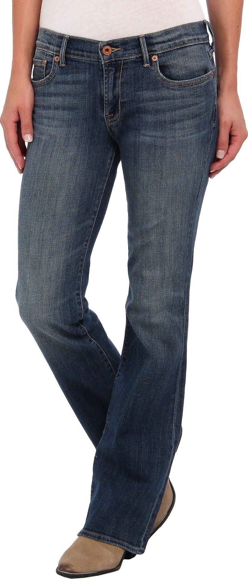 Lucky Brand Women's Sweet N Straight Jean,Tanzanite,28x32