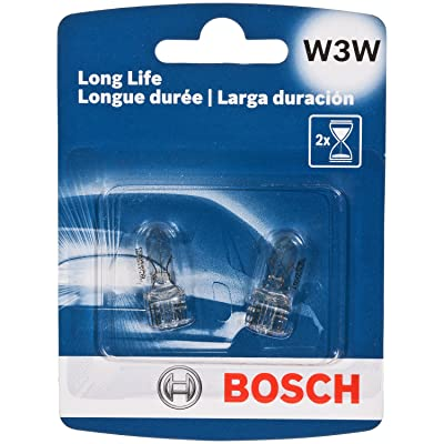 Bosch W3W Long Life Upgrade Minature Bulb, Pack of 2: Automotive