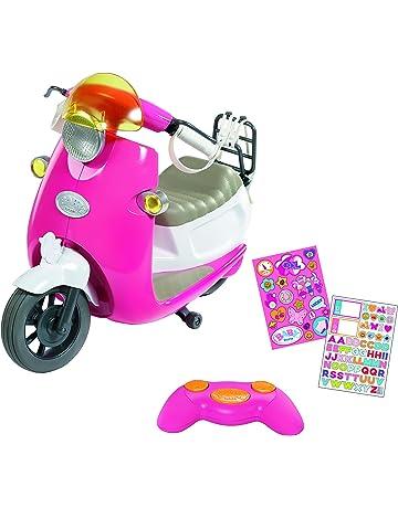 Elektronisches Motorrad in rosa lila für Kinder 3 bis 5 Jahre Kinderfahrzeuge