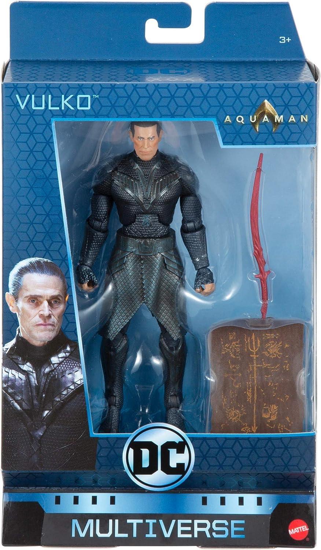 """DC Comics Multiverse Aquaman Vulko Figure 6/"""" Collectors Quality DC Legends"""