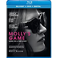 Deals on Mollys Game Blu-ray