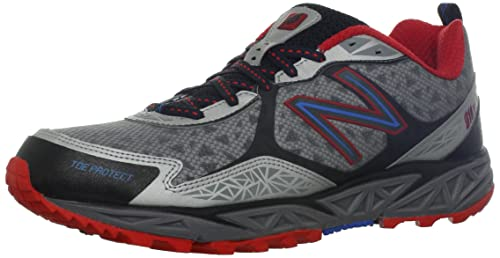 New Balance Mt910 D - Zapatillas de running, color Red With Silver, talla 12 UK - Width D: Amazon.es: Zapatos y complementos