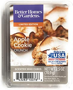 Better Homes & Gardens Apple Cookie Crunch 2018 Limited Edition Wax Cubes