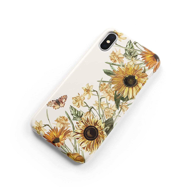 Amazon Com Sunflower Samsung Galaxy S9 Plus S8 Case Abstract