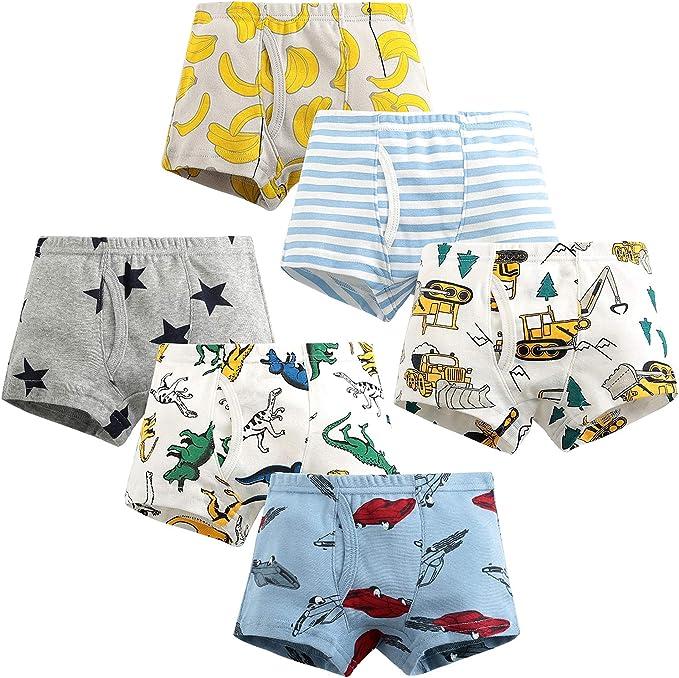 Adorel Boys Boxers Shorts Pants Underwear Cotton Pack of 5