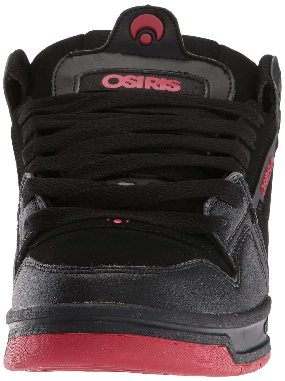 best website e67da a3844 Zapato de skate Osiris para hombre con falda Negro   Rojo