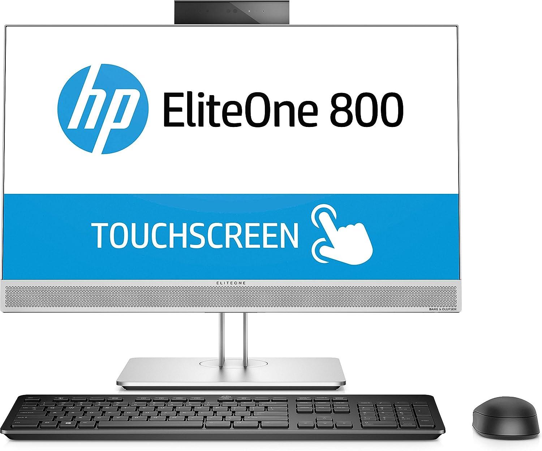 HP 800 G3 3.4GHz i5-7500 Plata PC Todo en uno - Ordenador de sobremesa All in One (58,4 cm (23