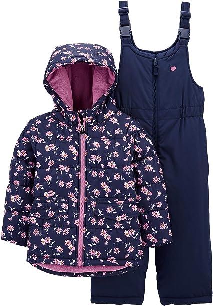 OshKosh BGosh Girls Best Snow Bib Snowsuit