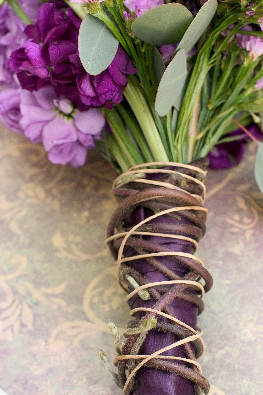 Brown Floral Bind Wire Wrap, Paper Covered Waterproof Rustic Vine ...