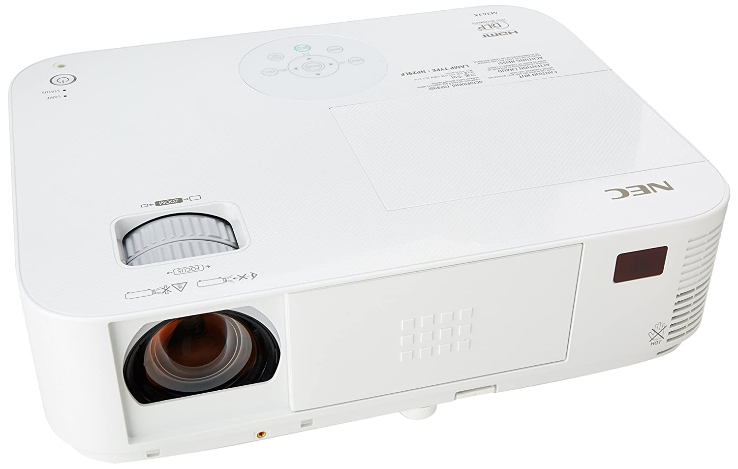 NEC Easy To Use Video Projector (NP-M363X)