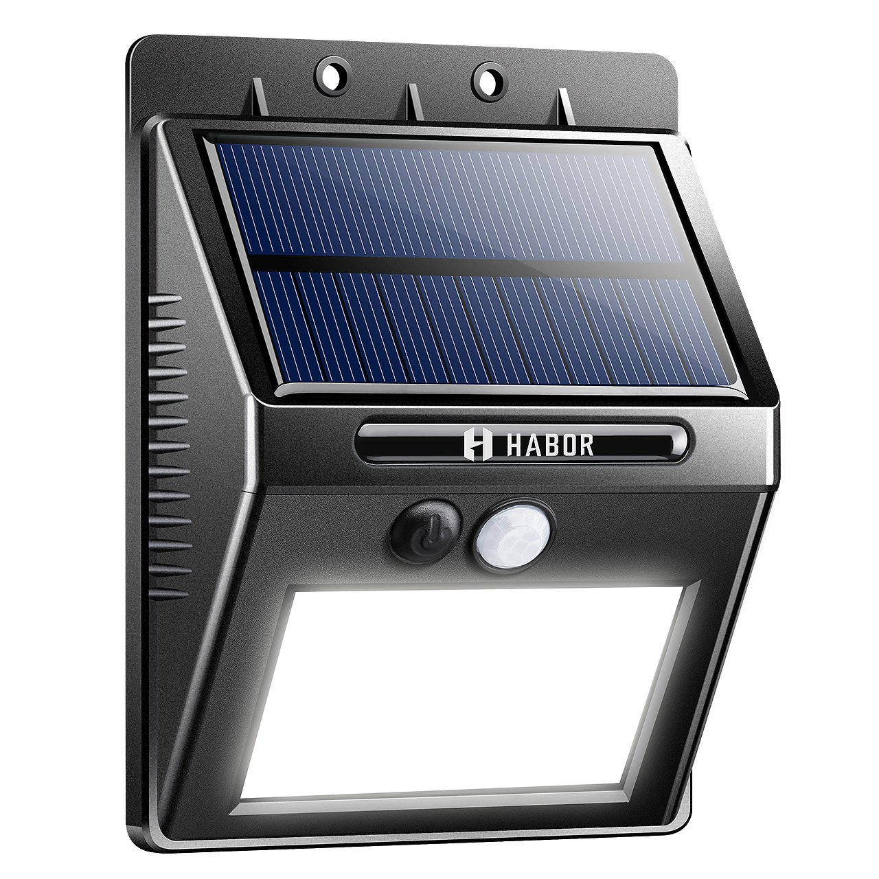 Habor Solar Lights Outdoor, Bright 20 LED Solar Motion Sensor Lights, Wireless Security Waterproof Wall Lights for Front Door Patio Garden Driveway Garage