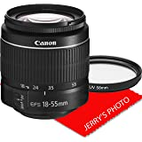 Canon EF-S 18-55mm f/3.5-5.6 III DSLR Camera Zoom Lens (New in White Box)