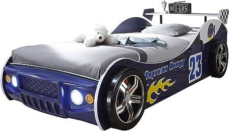 Energy Autobett Inkl Led Beleuchtung Blau 90 X 200 Cm