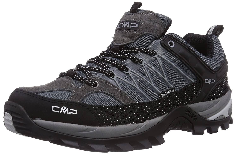 CMP Herren Rigel Low Trekking- Wanderhalbschuhe  47 EU|Grau (Grey U862)