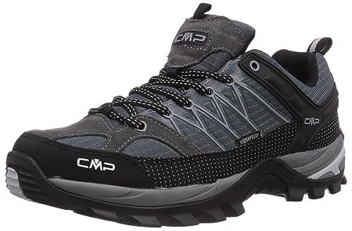 CMP Rigel, Zapatos de Low Rise Senderismo para Hombre, Gris-Grau (Grey