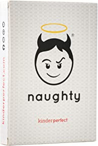 KinderPerfect - Naughty Expansion Card Pack for Edgy Parents Game Night