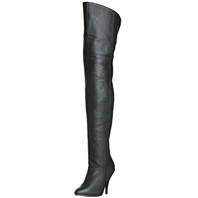 cc1a35a546f Pleaser Women s LEGEND-8868 Unlined classic over-knee boots  Amazon ...
