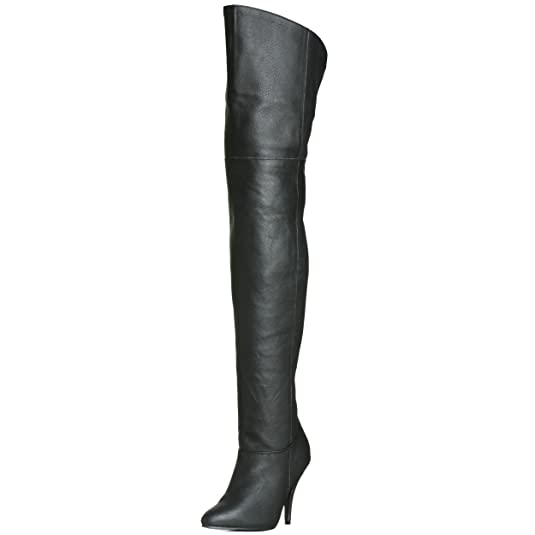 a9bbe589666 Pleaser Women s LEGEND-8868 Unlined classic over-knee boots  Amazon.co.uk   Shoes   Bags