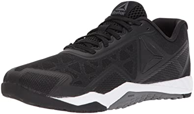 Reebok Women's Ros Workout TR 2.0 Sneaker, Black/Alloy/White, 5 M