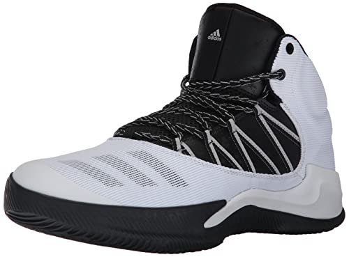 1aadce4fad7 Adidas Men s Ball 365 Inspired Basketball Shoe White Black Grey Two 8  Medium US