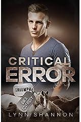 Critical Error: Christian Romantic Suspense (Triumph Over Adversity Book 2) Kindle Edition