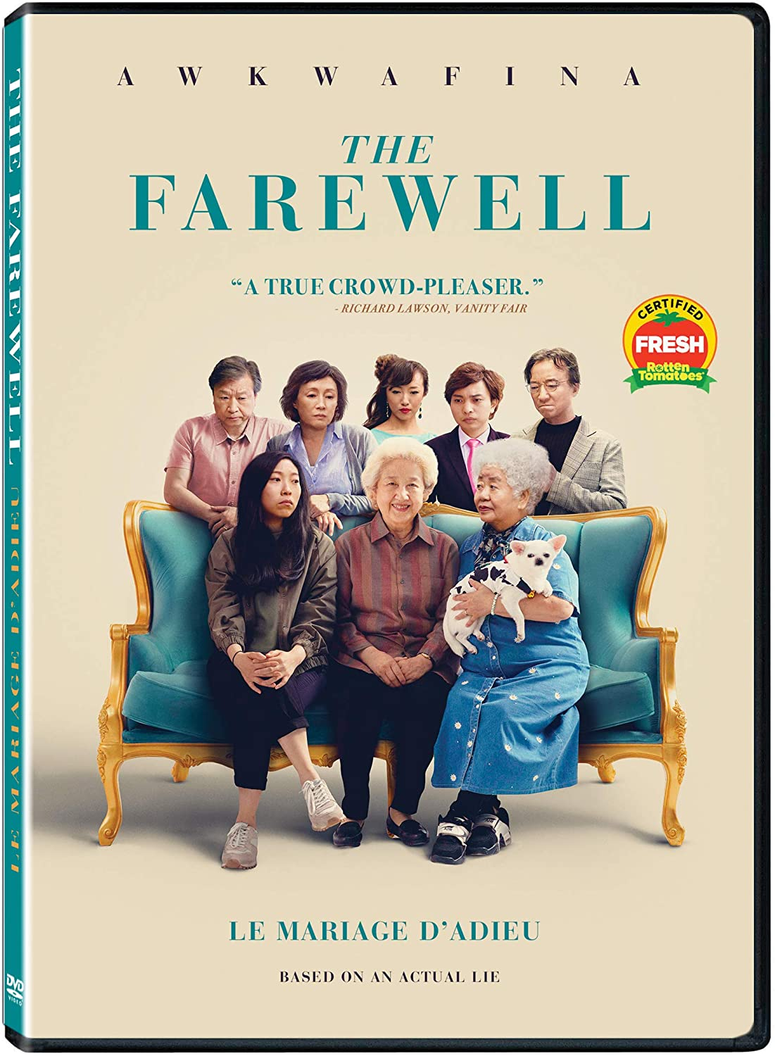 THE FAREWELL (Le mariage d'adieu) (Bilingual): Amazon.ca: Awkwafina, Tzi  Ma, VVS FILMS, Lulu Wang: DVD