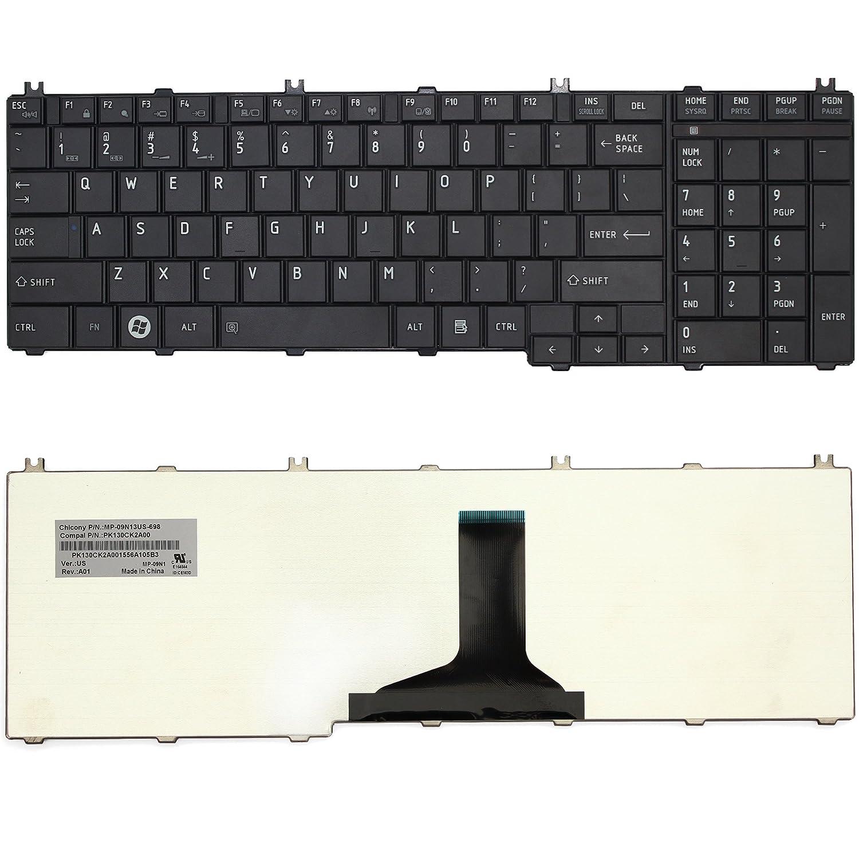 Amazon.com: LotFancy Laptop Keyboard for Toshiba Satellite C650 C650D C655  C655D L650 L650D L655 L655D L670 L670D L675 L675D Pro C650 C655 C660 C665  L650 ...