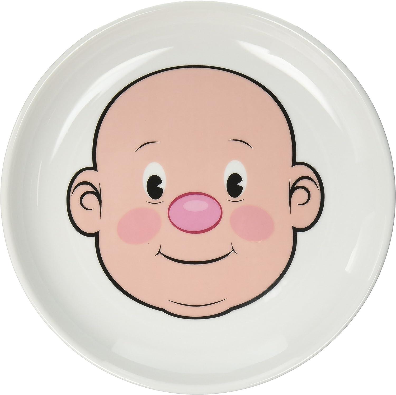 Genuine Fred MR. FOOD FACE Kids' Ceramic Dinner Plate