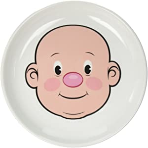 Fred MR. FOOD FACE Kids' Ceramic Dinner Plate