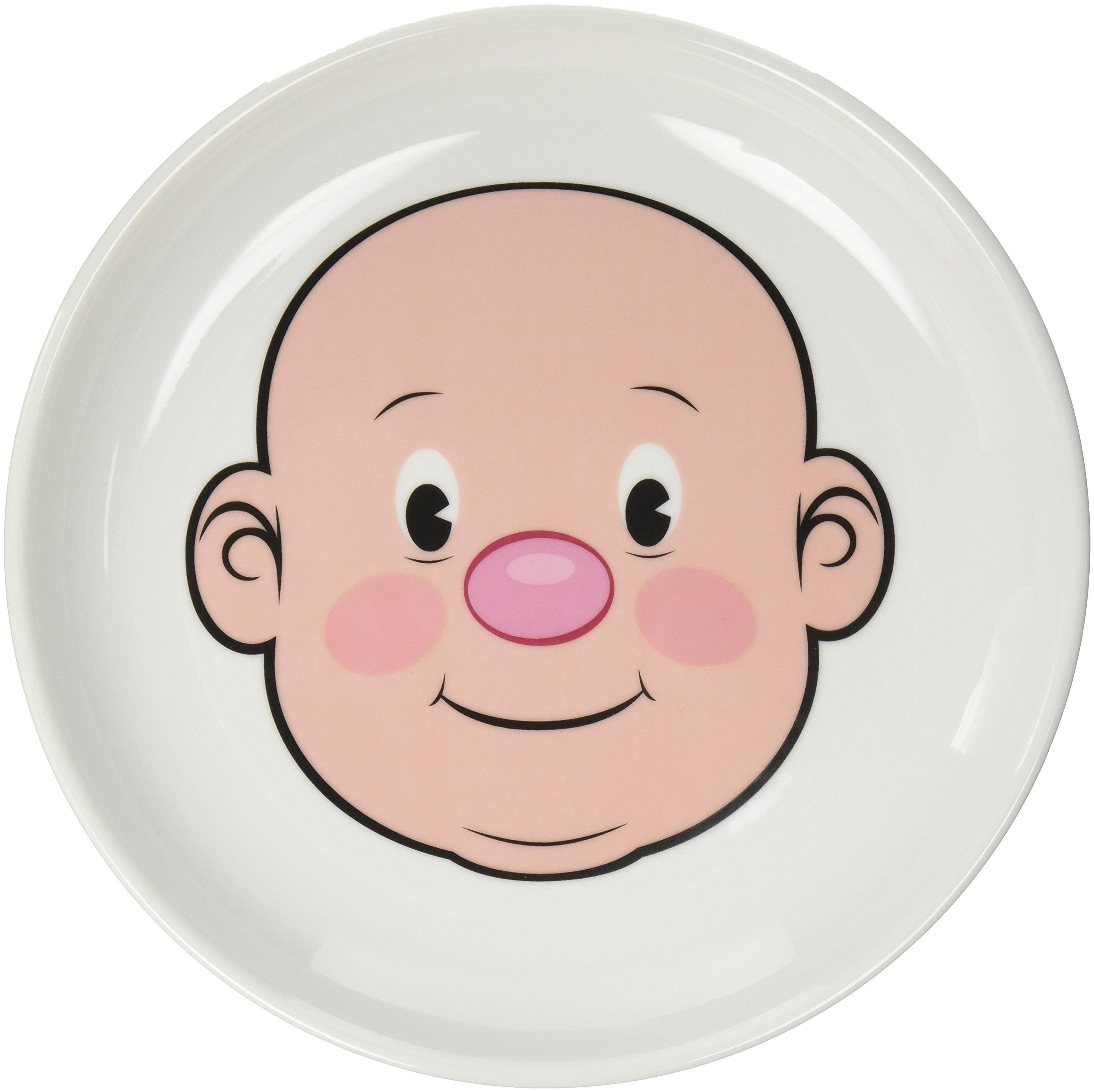 FOOD FACE Kids\u0027 Ceramic Dinner Plate  sc 1 st  eBay & Fred MR. FOOD FACE Kids\u0027 Ceramic Dinner Plate | eBay