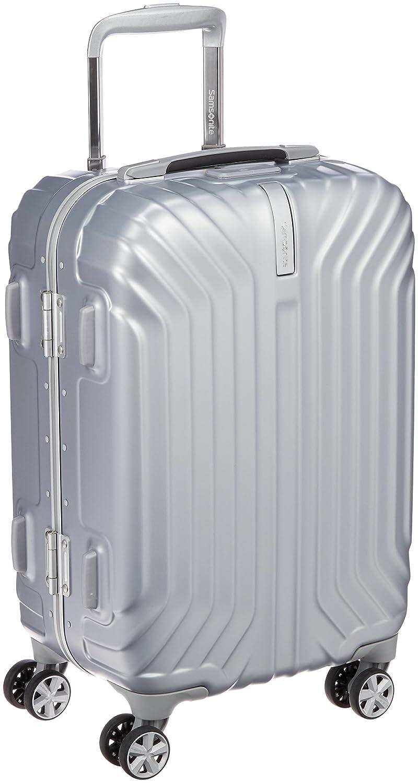[サムソナイト] スーツケース トゥルーフレーム スピナー55 32L 機内持込可 保証付 (現行モデル) B01LY021M6 マットシルバー マットシルバー