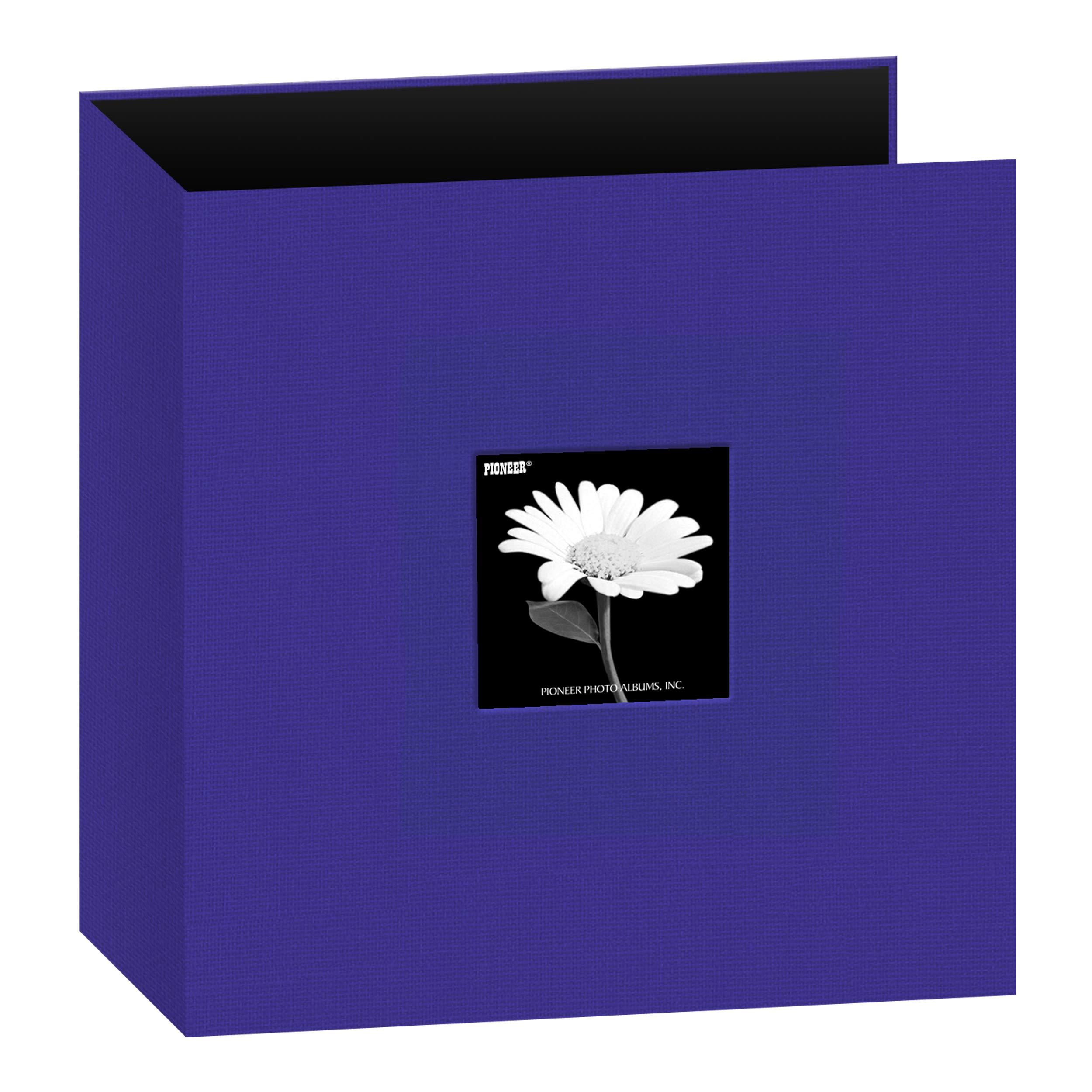 Pioneer 234-24 Fabric 3-Ring Binder Album 8.5''X11''-Blue