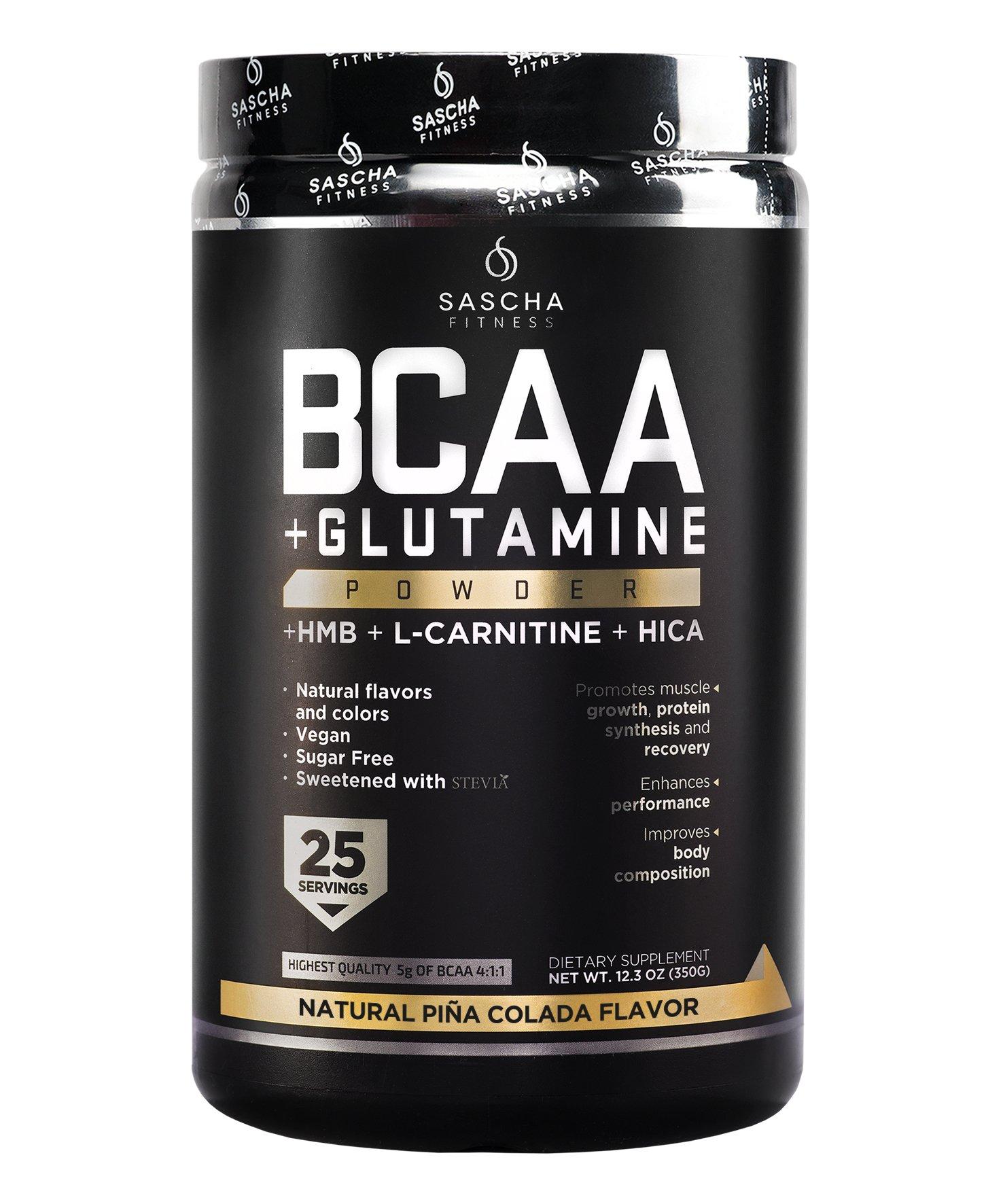 Sascha Fitness BCAA 4:1:1 + Glutamine, HMB, L-Carnitine
