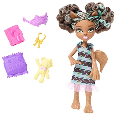 Monster High Monster Family Pawla Wolf Doll: Toys & Games