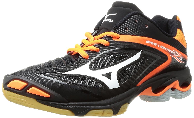Mizuno Women's Wave Lightning 10 Z3 Volleyball Shoe B01N411R7Y 10 Lightning B(M) US|Black/Orange 010045